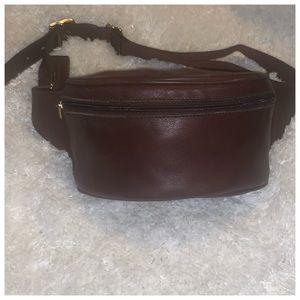 Authentic Vintage Coach Leather Fanny Pack